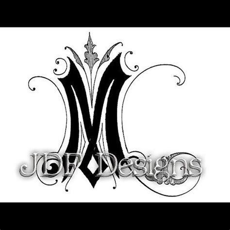 46 best M Monogram images on Pinterest   Letters