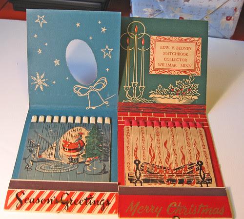 Christmas Jumbo Matchbooks
