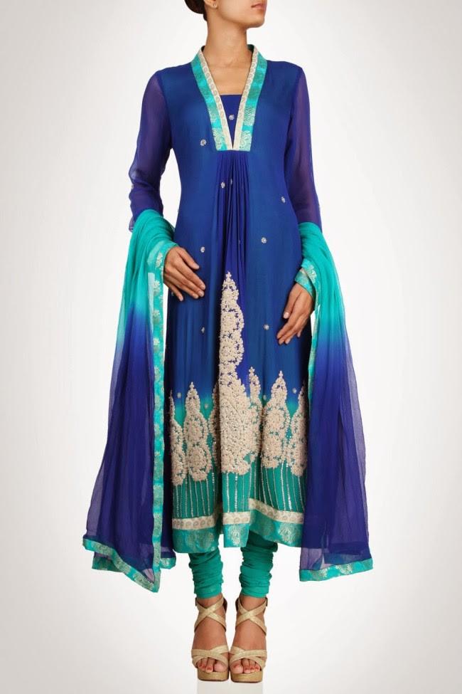 Beautiful-Anarkali-Churidar-Salwar-Kamiz-for-Girls-Women-by-Designer-Rubina-K-1