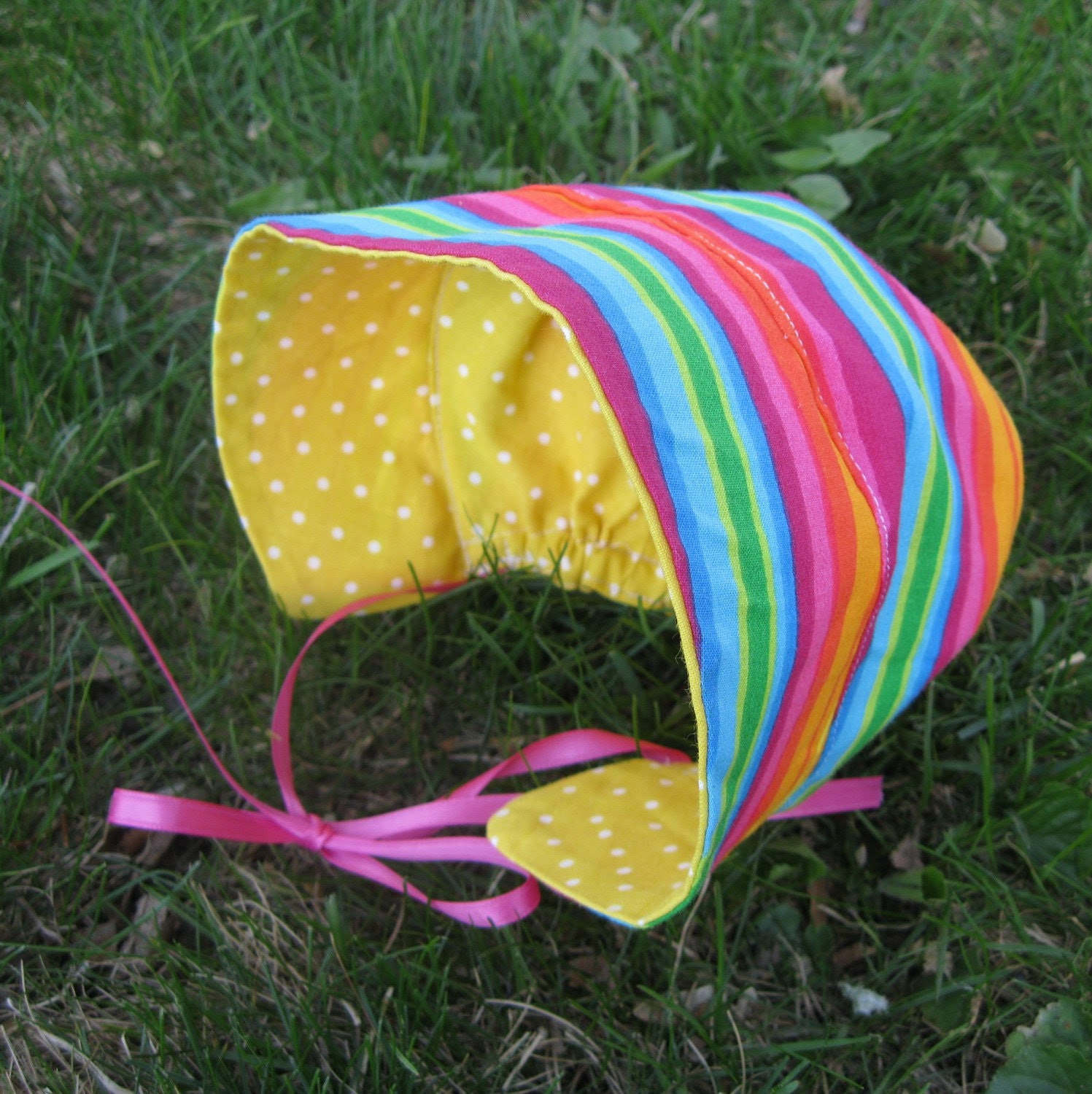 Reversible Sun Bonnet Pattern & Tutorial in 5 Sizes