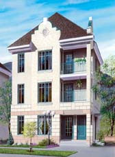 Multi-Plex House Pla