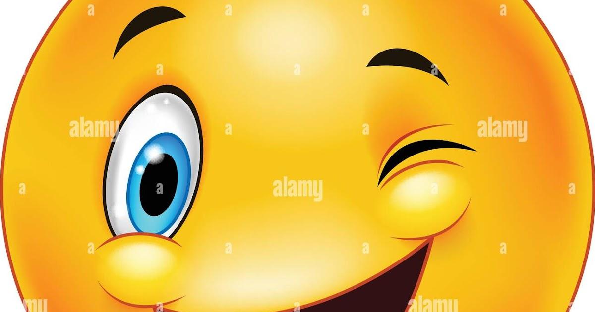 zwinker smiley flirten)