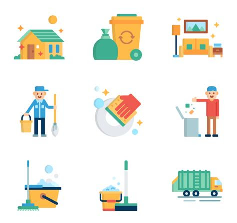 cleaning icon packs vector icon packs svg psd