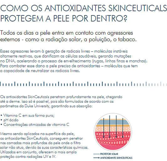 cuidados com a pele - Skinceuticals - Serum 10
