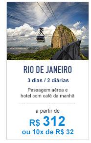 Rio de Janeiro / R$ 334