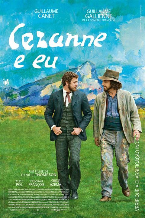 Cézanne e Eu : Poster