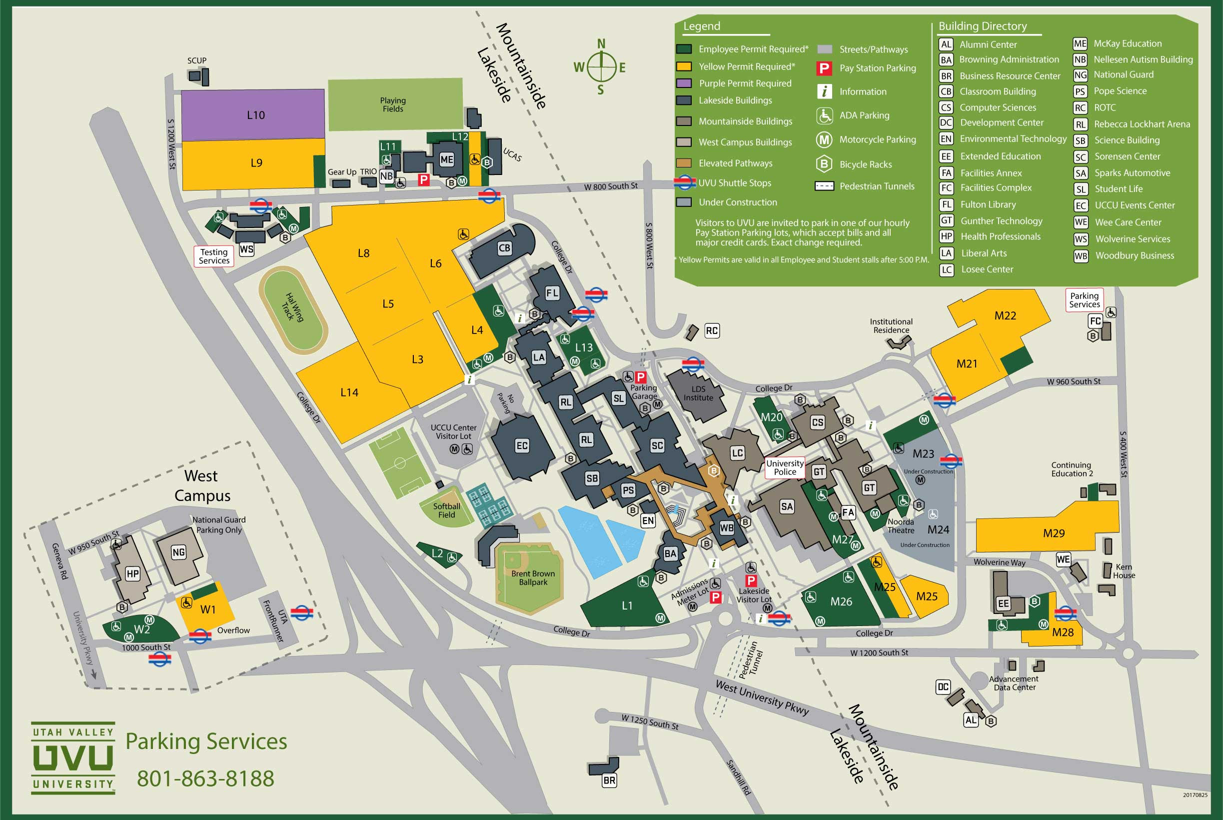 Uvu Parking Map Uvu Parking Map | Bathroom 2018