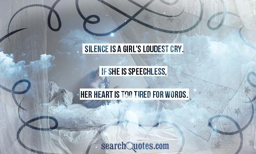 Woman Mad Silence Quotes Quotations Sayings 2019