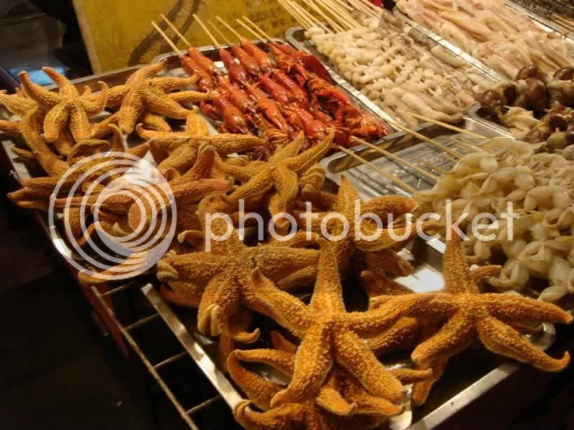 starfish kabob