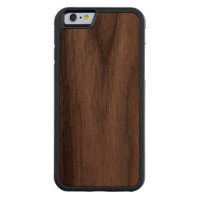 Make Your Own custom Carved® Wood iPhone 6 6S Case Carved® Walnut iPhone 6 Bumper