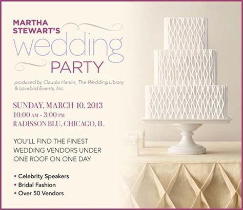 Calling All Chicago Brides! Martha Stewart's Wedding Party