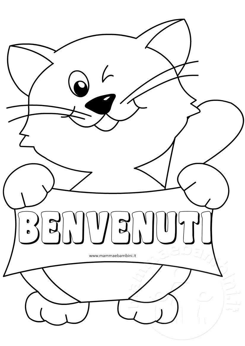 Disegni Da Colorare E Stampare Gatto Migliori Pagine Da Colorare