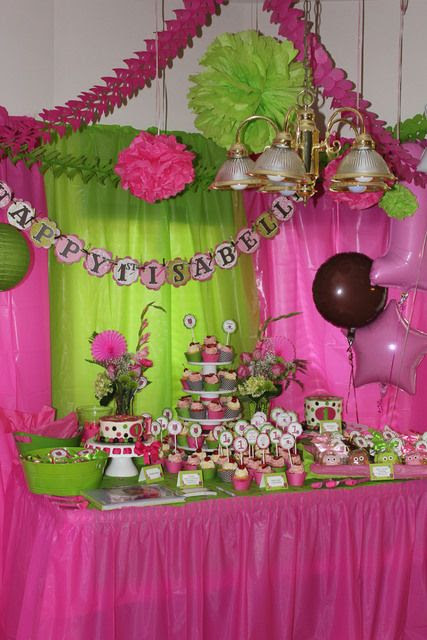 Keiras 2nd Pink Ladybug Birthday Party Pink And Greens Chic