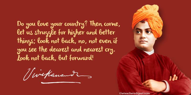 Quote Of The Day Swami Vivekananda The Teachers Digest