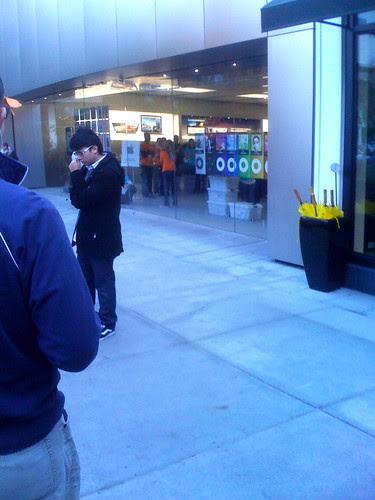 Grand Re-open Apple Store at U. Village