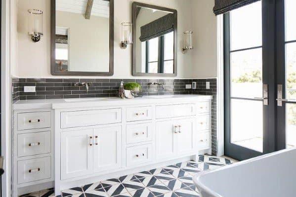 Cool Small Bathroom Tile Backsplash Photos