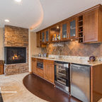 Basement Walk-Up Bar - traditional - basement - minneapolis - by ...