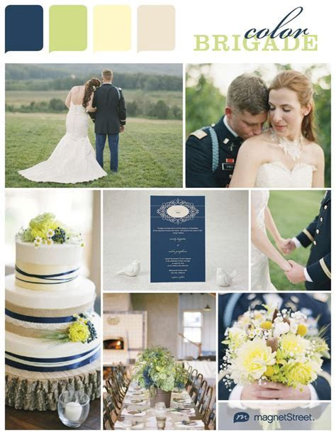Navy Military Wedding Ideas