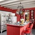 Red Kitchen - Decorating a Red Kitchen - Country Living