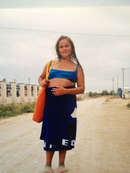 Fantastic Change of an Overweight Russian Girl
