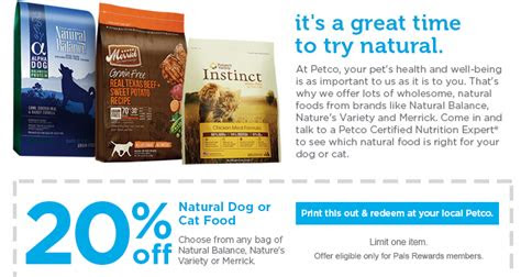 natural balance dog food coupon  ben  jerrys pint