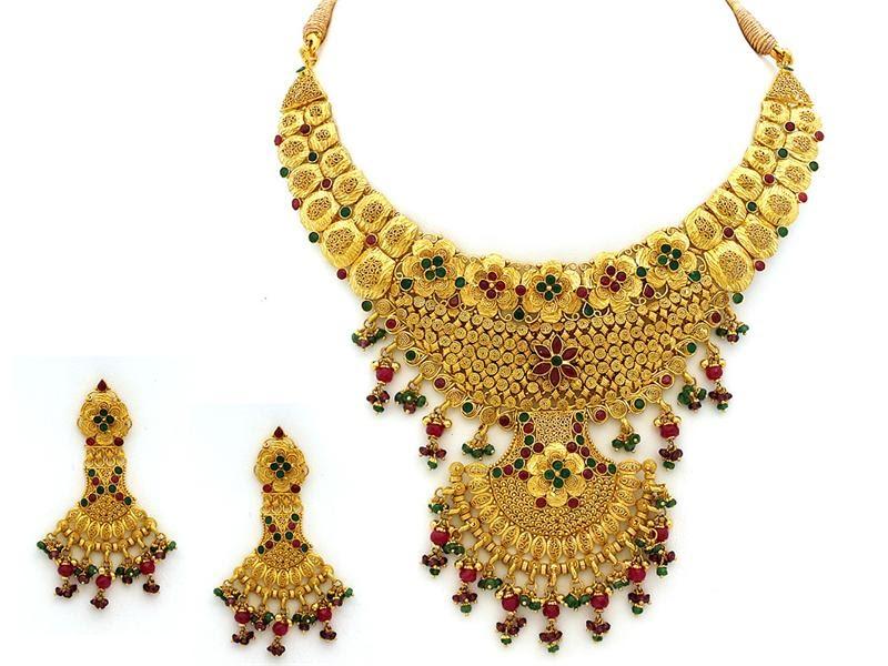 Latest Fashion Trends 22k Gold Jewellery Designs