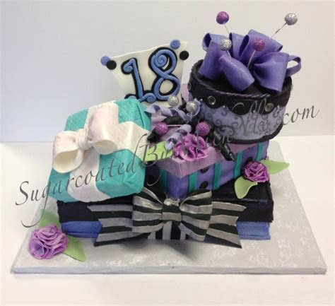 Adulthood Was Never So Delicious: 18th Birthday Cake Designs
