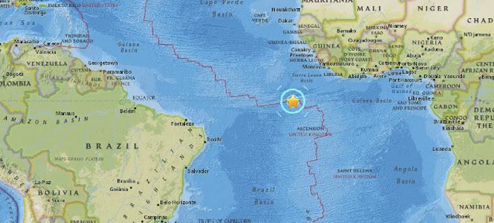 Σεισμός 7,4 Ρίχτερ στον Ατλαντικό Ωκεανό