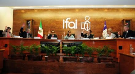 La sesión en el IFAI. Foto: IFAI