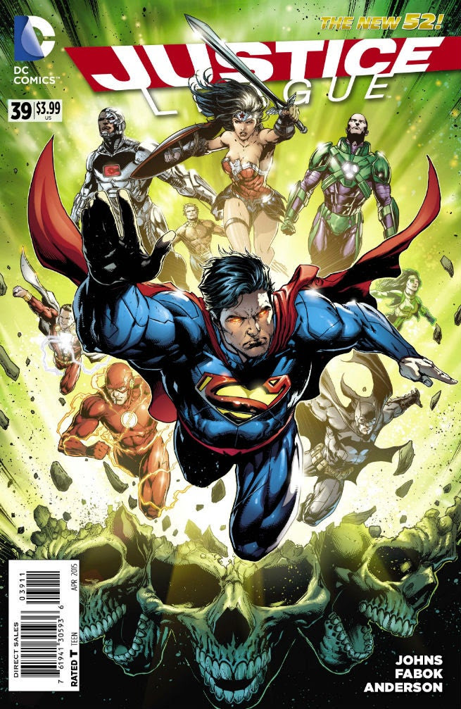 Justice League's Geoff Johns and Jason Fabok Talk The Amazo Virus, The Darkseid War and More
