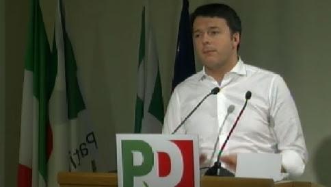 """Renzi al Pd: """"Riforma voto in tempi certi, premio di maggioranza del 18%"""""""