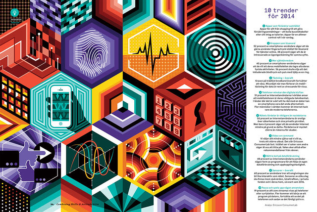 Honeycomb Tech Illustrations.