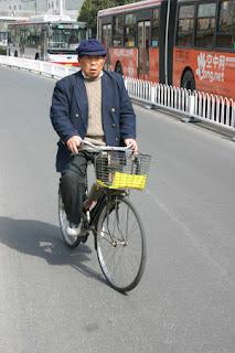 Beijing cyclist
