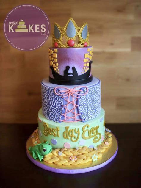 Love this Tangled Rapunzel cake by karolyn's kakes   Cakes