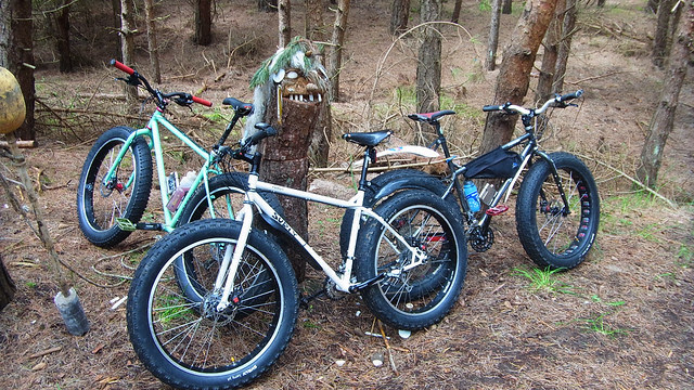 Fatbikes and Monsters.