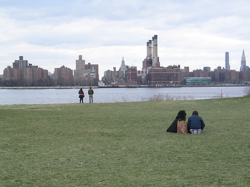 The view from Williamsburg, Brooklyn