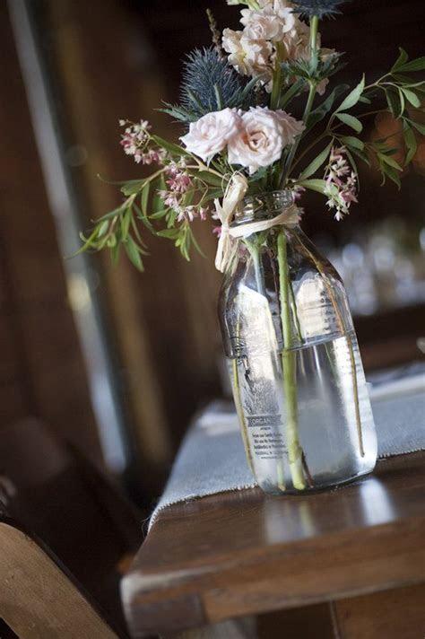 25  best ideas about Milk Bottle Centerpiece on Pinterest