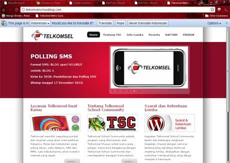 Telkomsel themes  Buka web