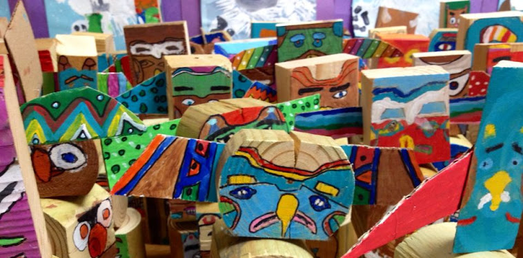 Touching Spirit Bear Totem Pole Project Examples