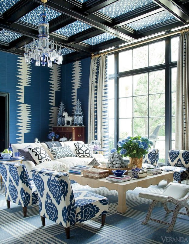 Mix and Chic: Gorgeous blue room inspirations! #KBHomes