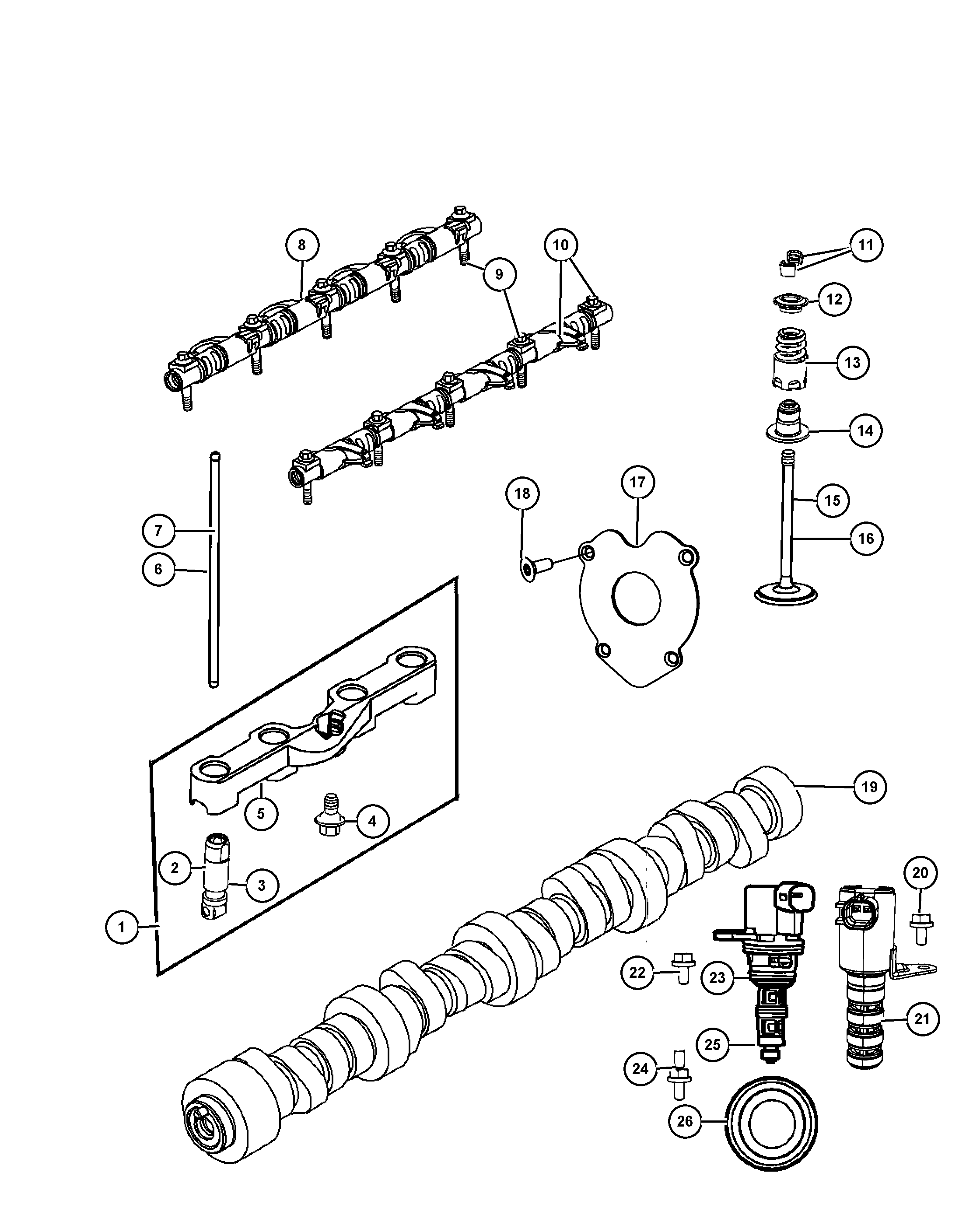 Chrysler La Engine Diagram