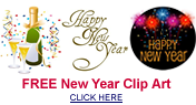 free New Years clip art