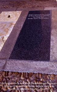 Os restos mortais da Irmã Teresa Chikaba repousam no claustro do belíssimo Monastério dominicano de Santa Maria de las Dueñas, em Salamanca (Espanha). [Foto PRC]