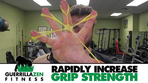rapidly increase grip strength  wrist stability