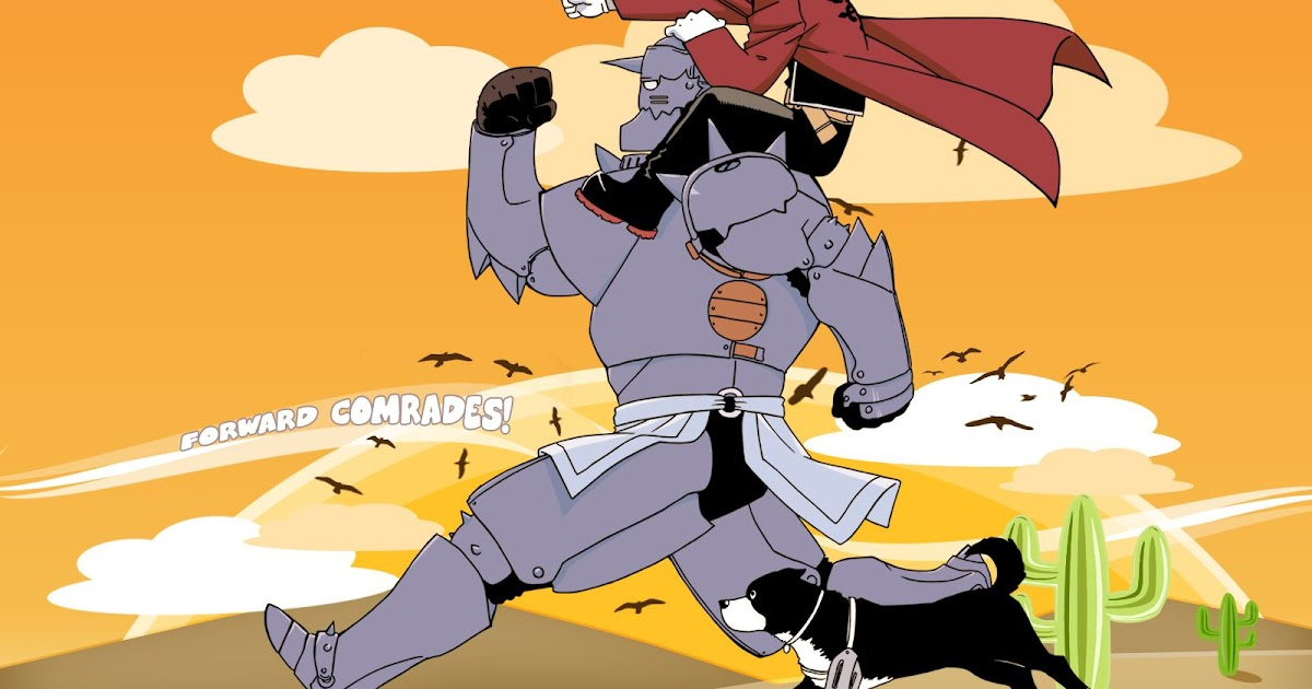 Edward Fullmetal Alchemist Dog - Full Metal