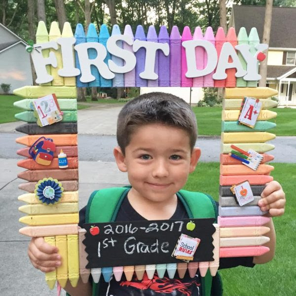 First Day Of School Frame Every Day Is An Occasion