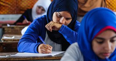 طلاب الثانوية الازهرية - أرشيفية