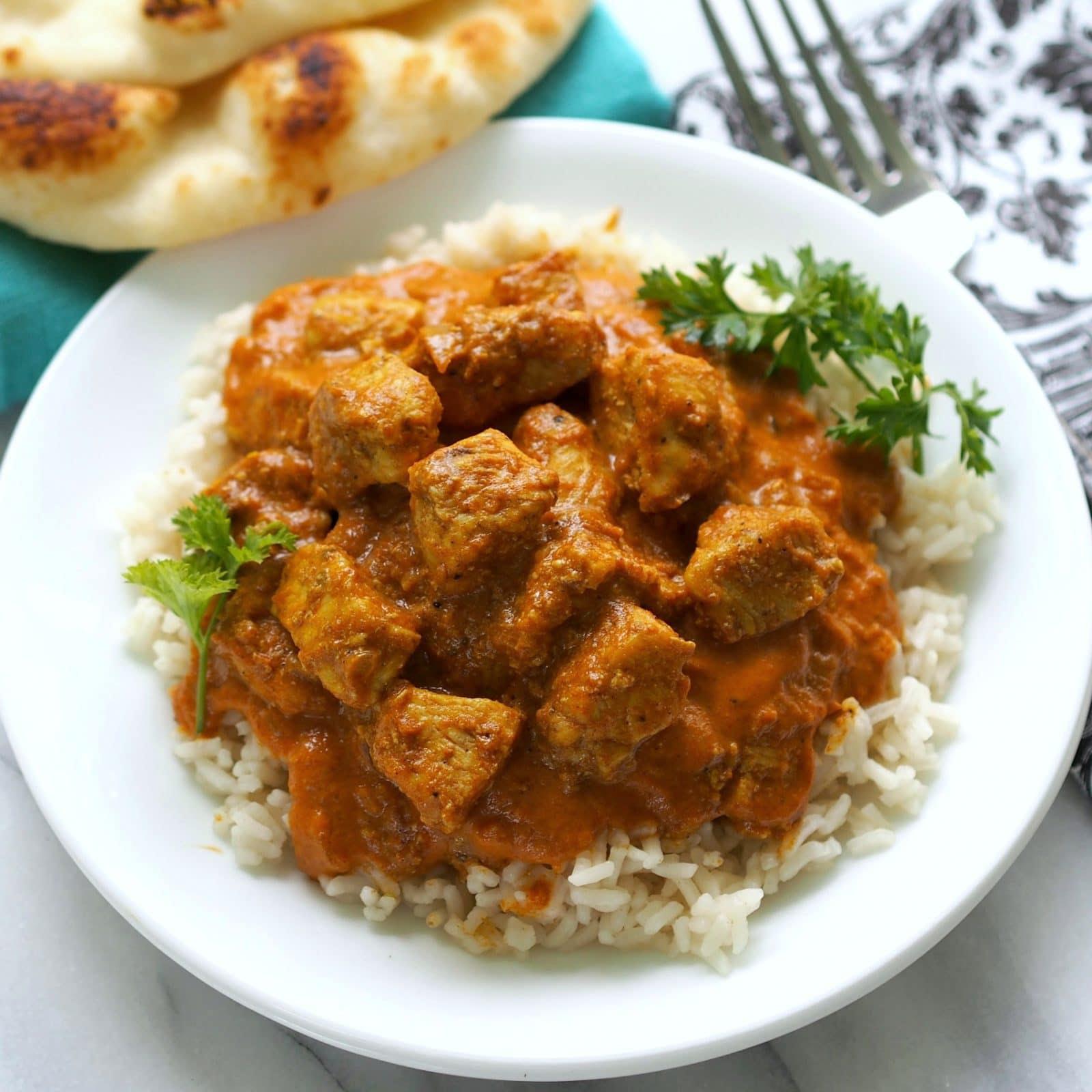 Chicken Tikka Masala - Simply Sated