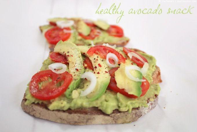 what ina loves healthy week schneller avocado snack. Black Bedroom Furniture Sets. Home Design Ideas