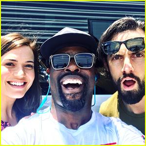 Mandy Moore, Sterling K Brown, & Milo Ventimiglia Begin Filming 'This Is Us' Season 2!